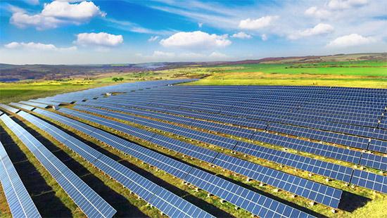 Solar plantation